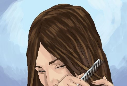 الشعر الجاف والخشن