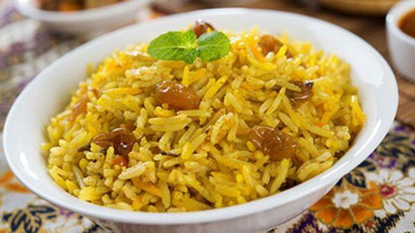 طريقة الأرز بالزعفران